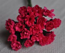 DEEP PINK STATICE / LIMONIUM gypso Mulberry Paper Flowers